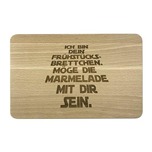Das Frühstücksbrett aus Buche Holz -