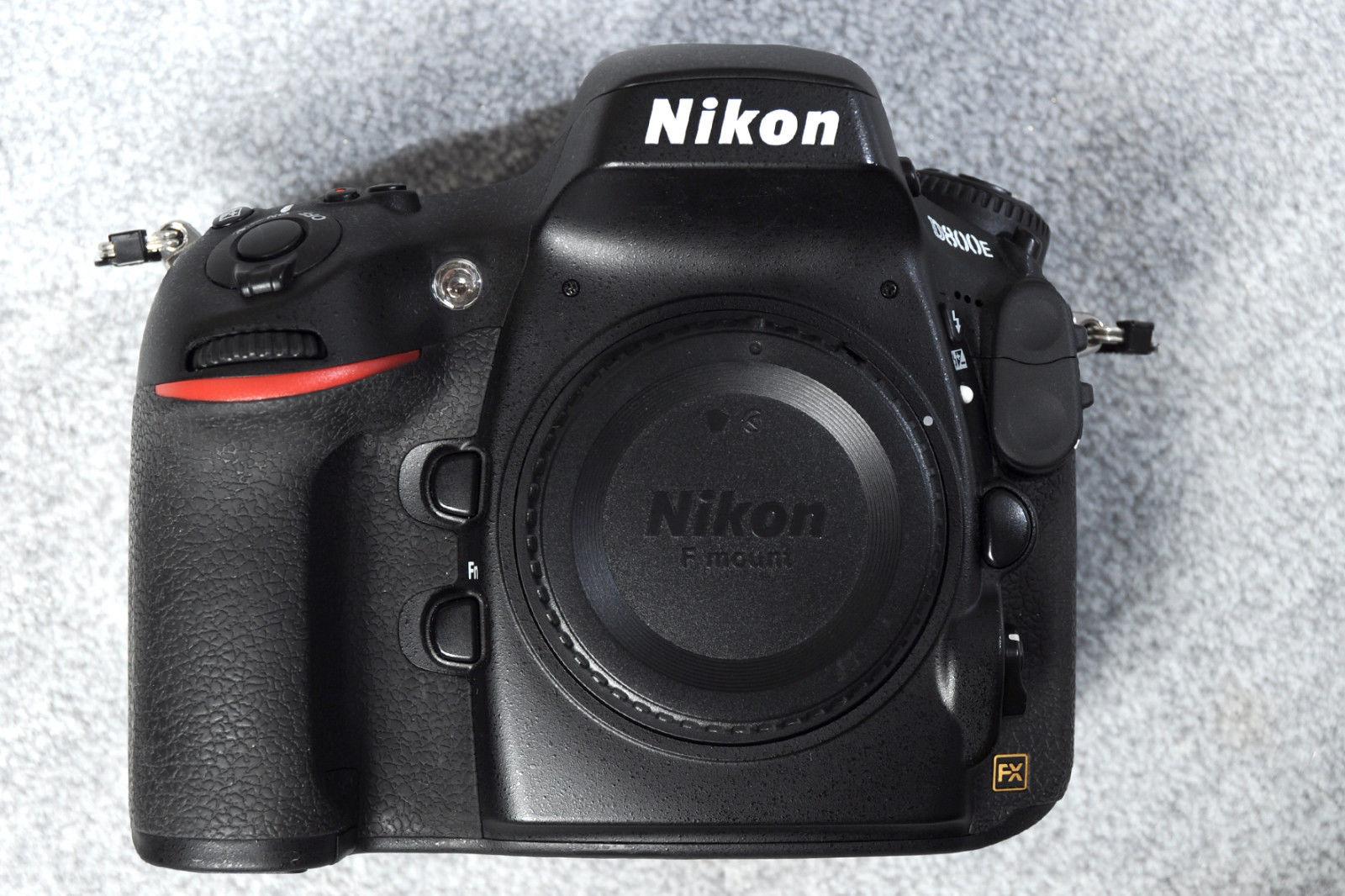 Nikon D D800E 36.3 MP SLR-Digitalkamera - Gehäuse  23700 Auslösungen