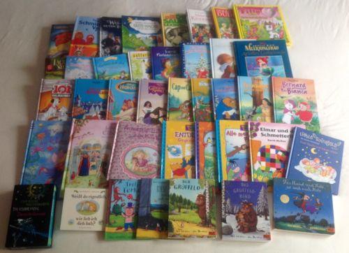 40 Kinderbücher: Walt Disney, Axel Scheffler, Lillifee, Ottfried Preußler usw.