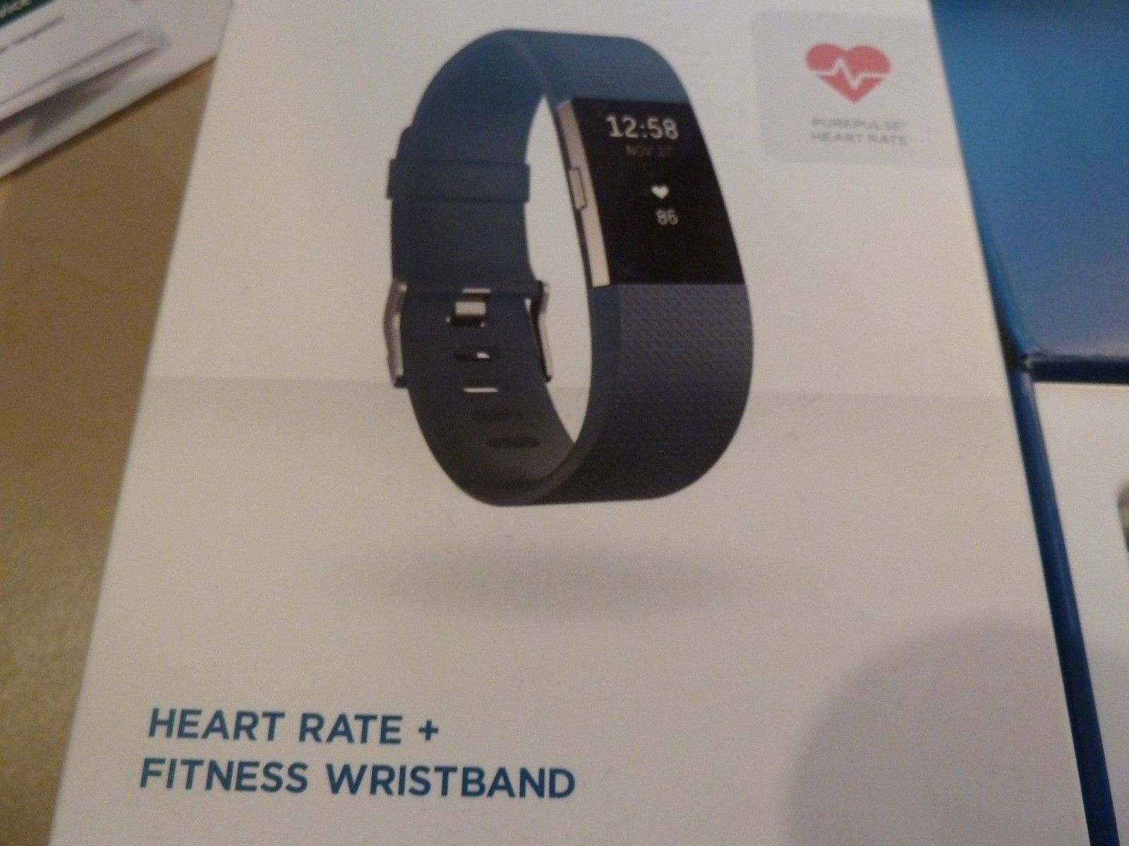 fitbit Charge 2 Small, Herzfrequenz- und Fitnessarmband, Activity Tracker, GPS