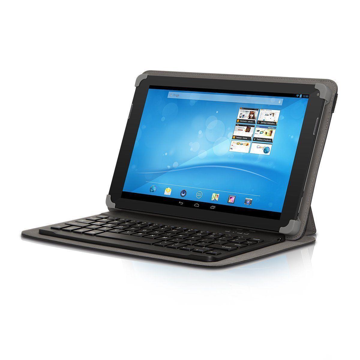 TrekStor SurfTab breeze 10.1 quad 8GB Tablet, WLAN, 25,7 cm (10,1 Zoll)- schwarz