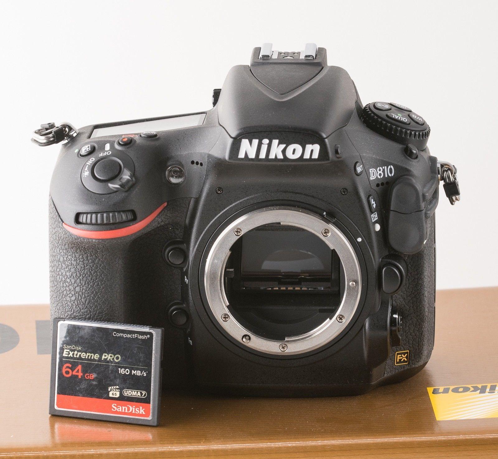 Nikon D810 D-SLR Body, 13 Monate jung, keine 4.500 Auslösungen, super Zustand