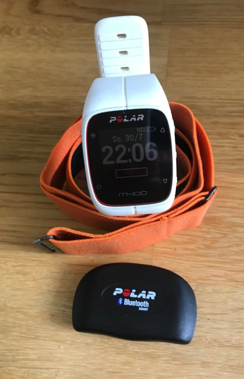 Polar M400 GPS-Laufuhr mit Polar H7 Herzfrequenz-Brustgurt