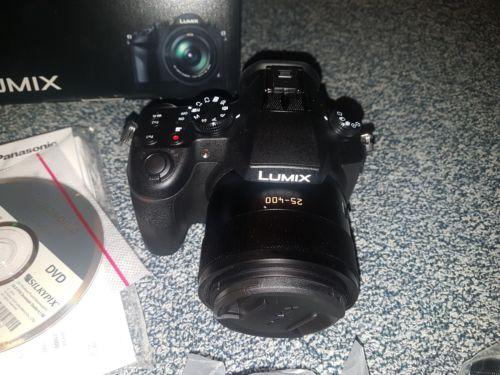 Panasonic LUMIX DMC-FZ1000 20.1 MP Digitalkamera - Schwarz wie neu
