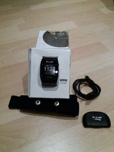 Polar M400 HR GPS Laufuhr mit H7 Brustgurt - gebraucht -