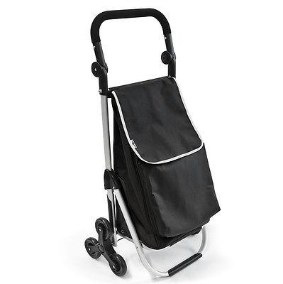 bremermann Treppensteiger Einkaufstrolley, Einkaufswagen, schwarz