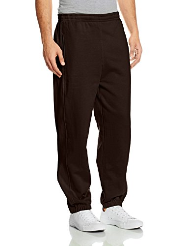 Urban Classics TB014B Herren Sporthose Sweatpants,Braun,Small