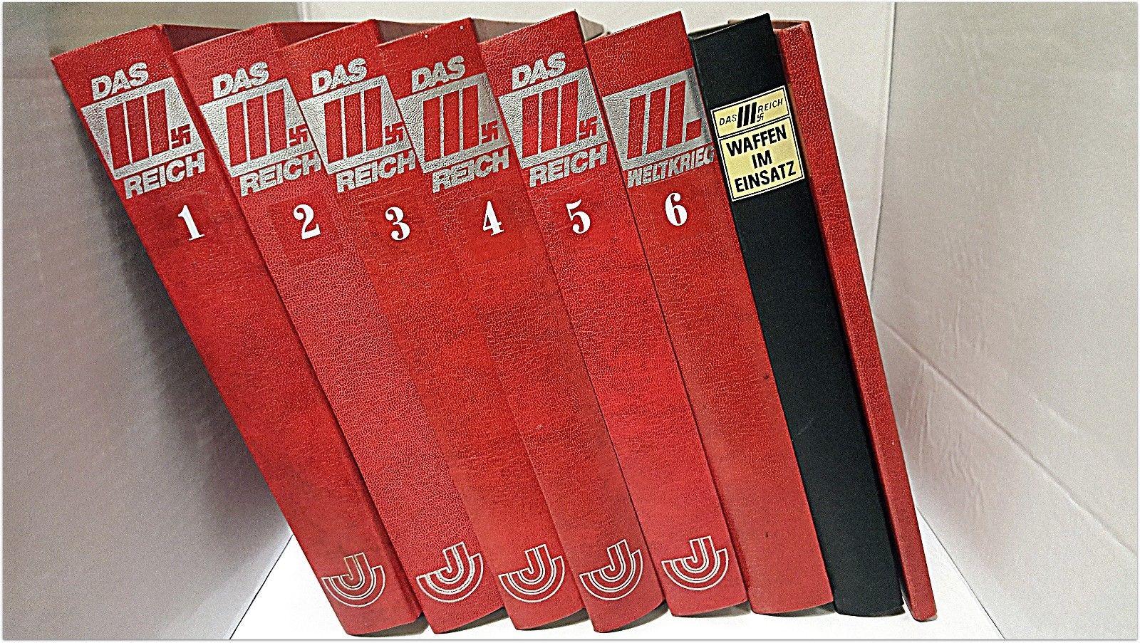 Das 3. Reich, 6. Bände Zeitschriftensammlung 2. Weltkrieg