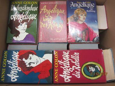 Anne Golon 28 Bücher Angelique Angeliqueromane historische Romane