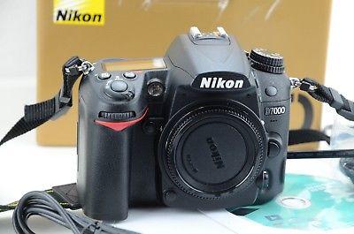 Nikon D7000  D-7000 DSLR Kamera, Auslösungen 7154, OVP