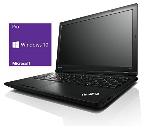 Lenovo Thinkpad L540 Notebook | 15.6 Zoll Display | Intel Core i5-4300M @ 2,6 GHz | 8GB DDR3 RAM | 128GB SSD | ohne DVD-Laufwerk | Windows 10 Pro vorinstalliert (Zertifiziert und Generalüberholt)