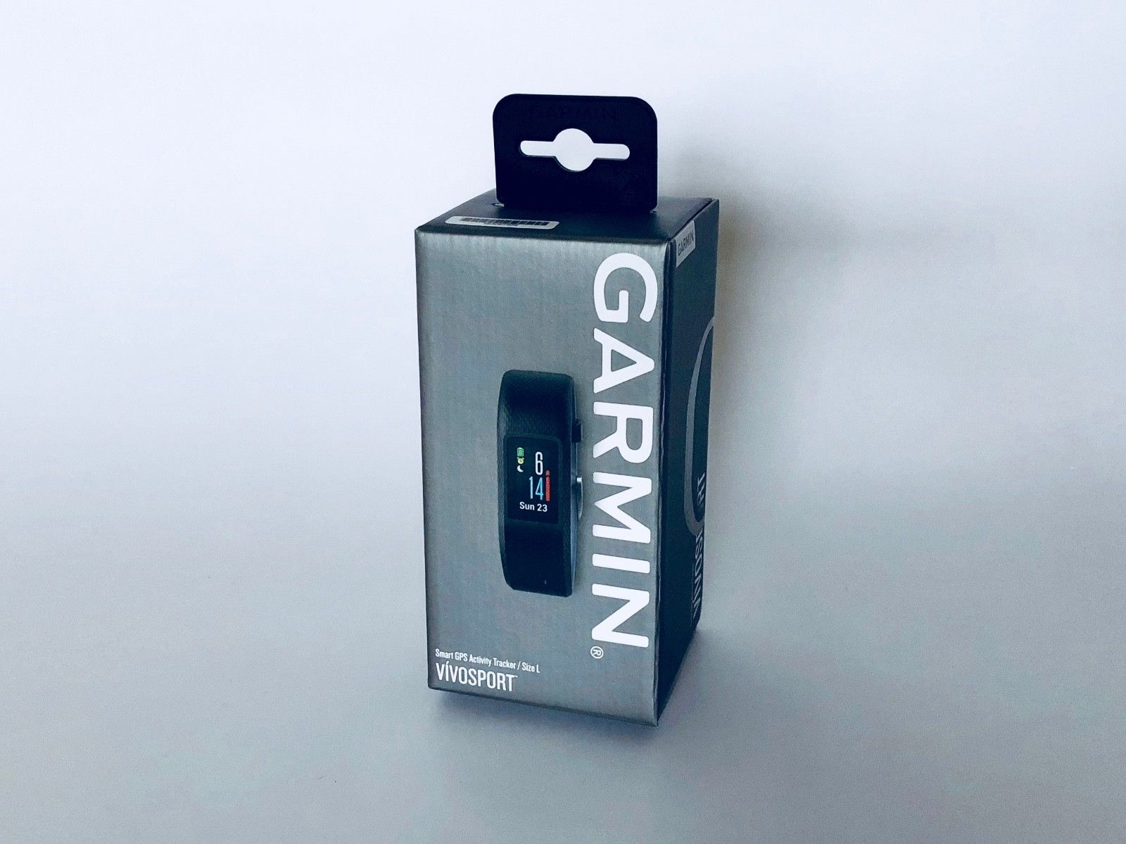 GARMIN vivosport Smart GPS Activity Tracker - Größe L - schwarz