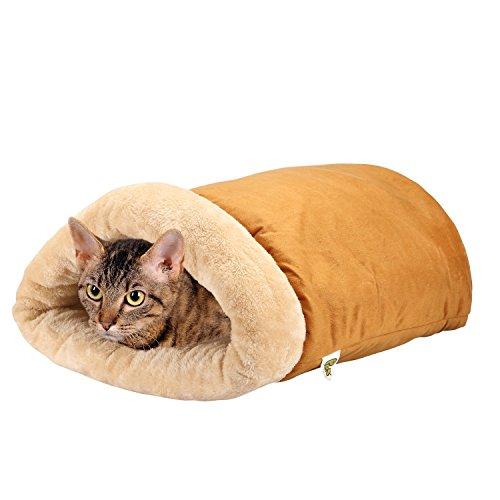 [50% Extra Rabatt] Selbstwärmende Katze Thermalbett - Cave Style - Luxus Vier-Wege-Snuggly Cat Hideaways Von Pet Magasin
