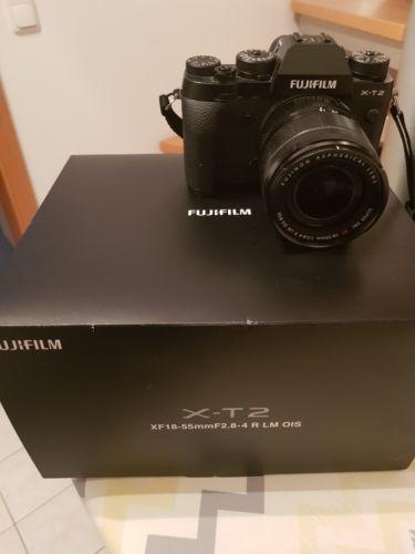 Fujifilm x-t2 wie neue mit objektiv und Rechnung