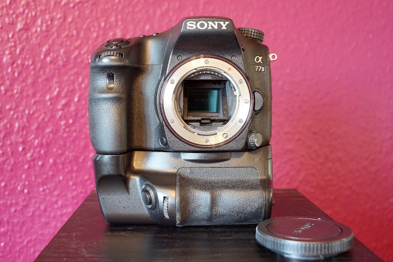 Sony Alpha ILCA-77M2/ a77ii mit Batteriegriff , Gebraucht ,Restgarantie