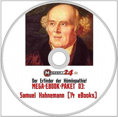 SAMUEL HAHNEMANN Erfinder der Homöopathie Gesamtwek CD Mega-eBook-Paket 03 Neu