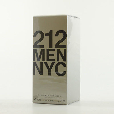 Carolina Herrera 212 Men NYC ? EDT Eau de Toilette 100ml NEU&OVP