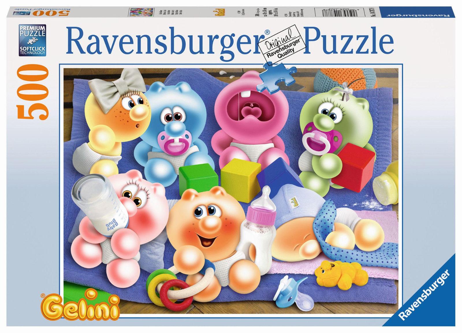 RAVENSBURGER 14787 - GELINI BABY, 500 TEILE PUZZLE, NEU/OVP, VORVERKAUF