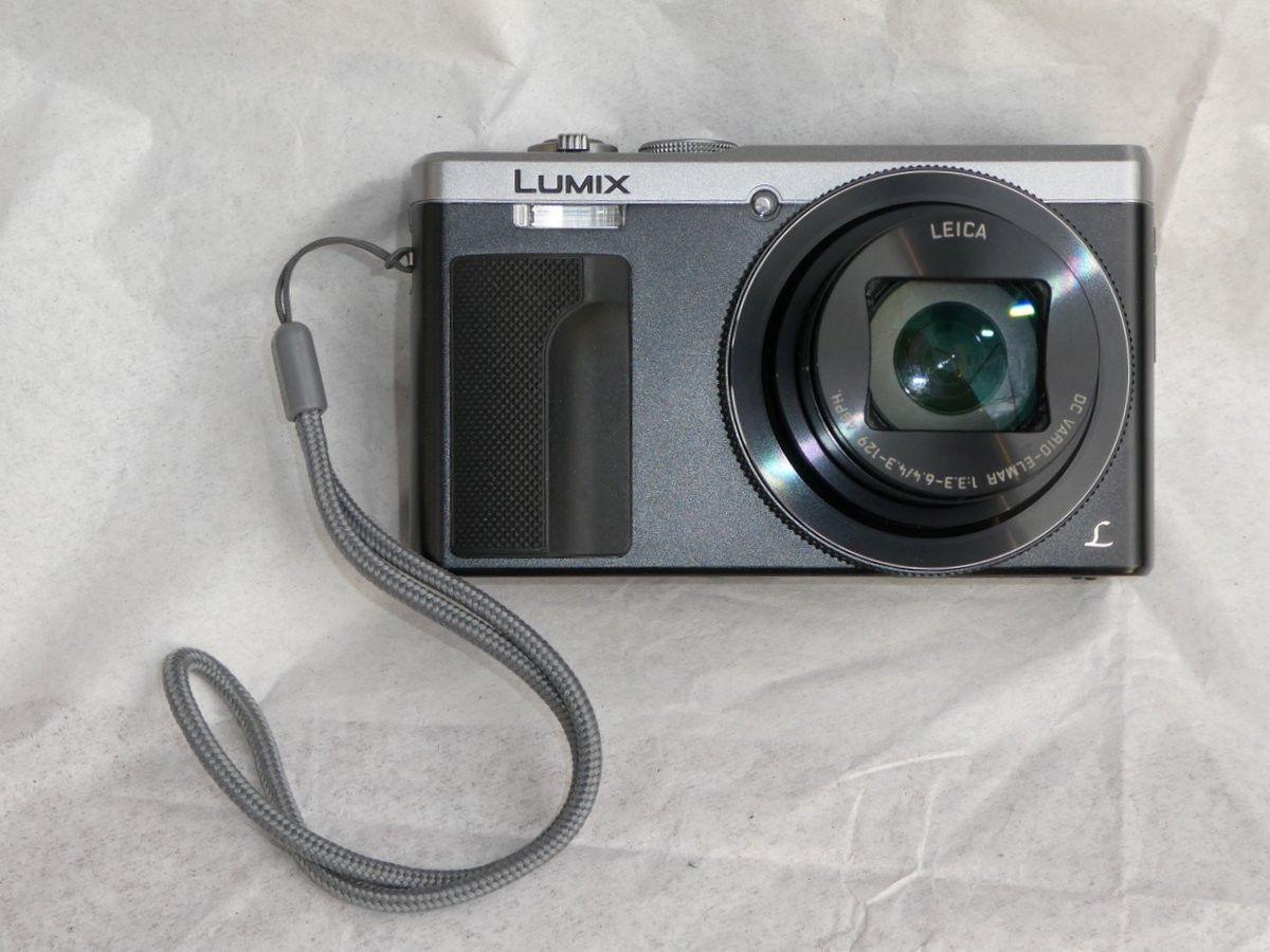 Panasonic Lumix DMC-TZ81, schwarz, sehr guter Zustand, fast keine Gebrauchspuren