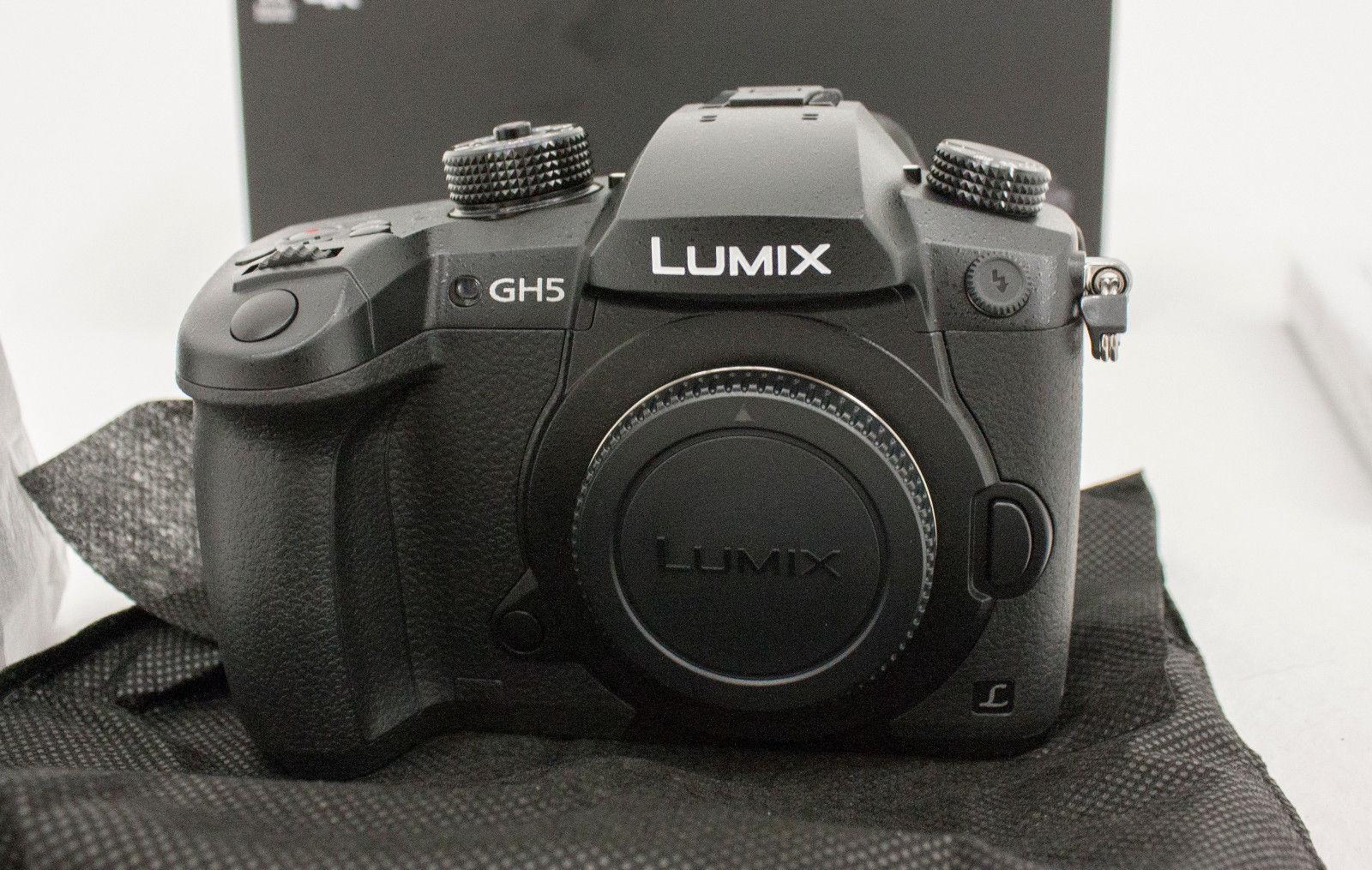 Panasonic Lumix DC-GH5 inkl. Leica 12-60 mm F2.8-4.0 NEU & OVP