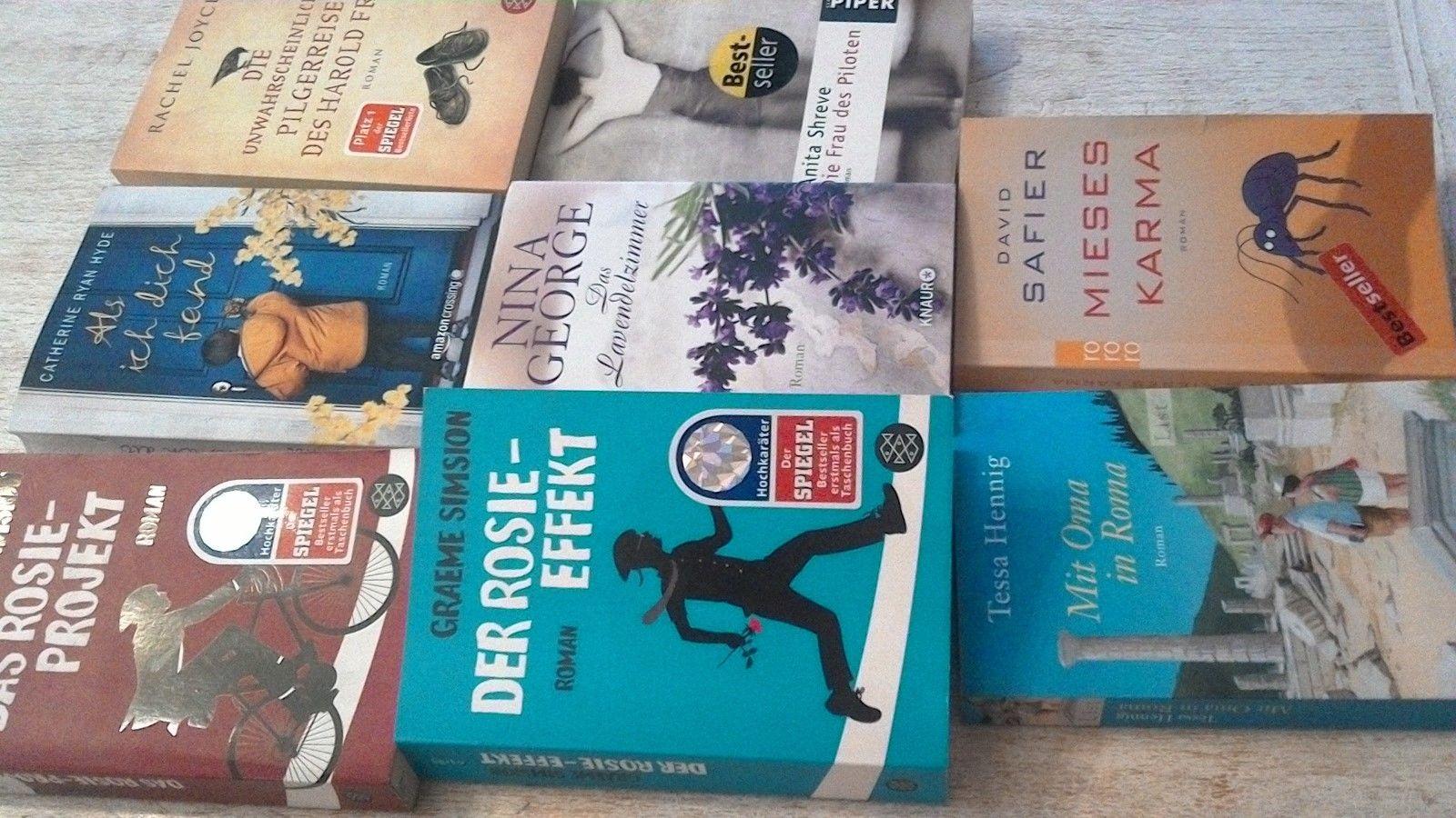 bücher paket romane belletristik