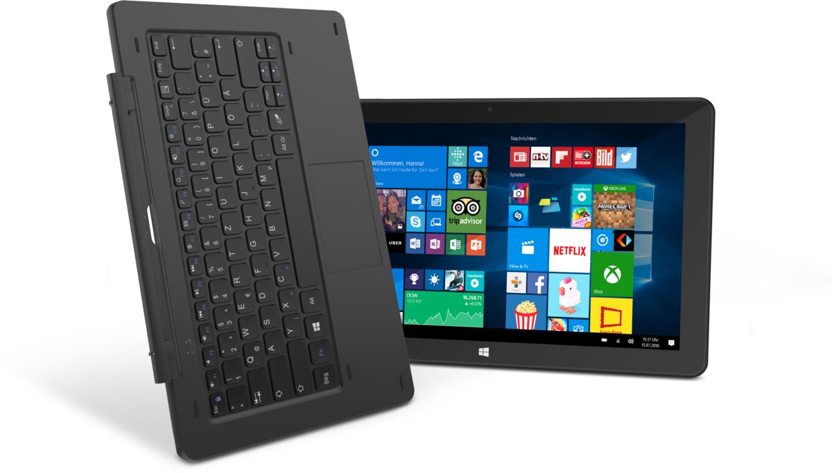 TrekStor SurfTab twin schwarz WIFI LTE Windows Tablet PC 11,6