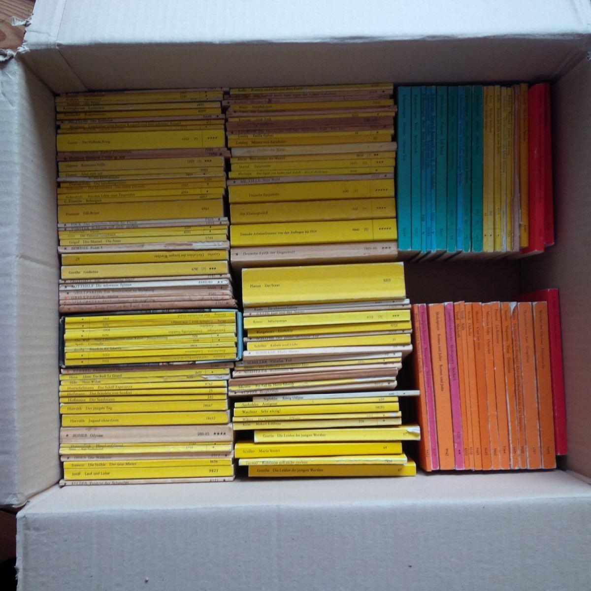über 120 Reclam Hefte !! Konvolut !! Sammlung