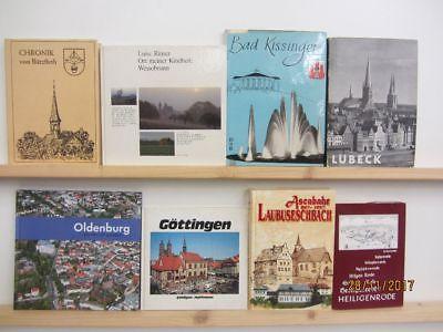 52 Bücher Deutschland Dokumentationen Reiseberichte Historien Chroniken