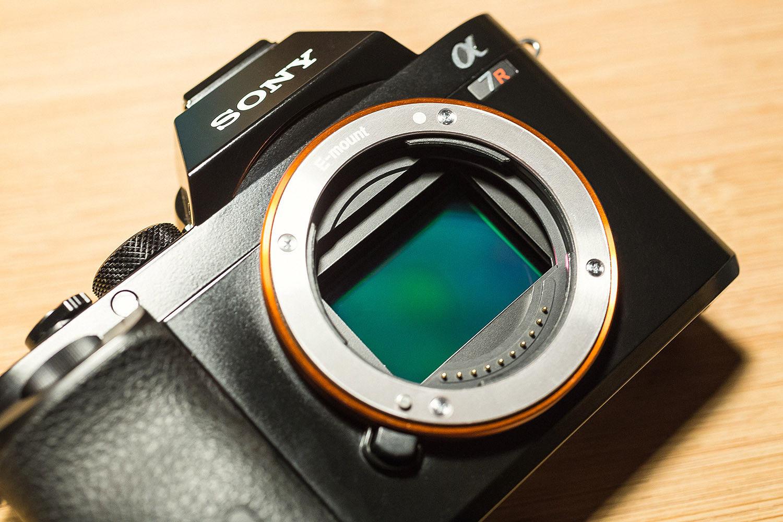 Sony Alpha ILCE-7R / A7R - 36,4 MP Digitalkamera - TOP gepflegt - OVP - 12/2014