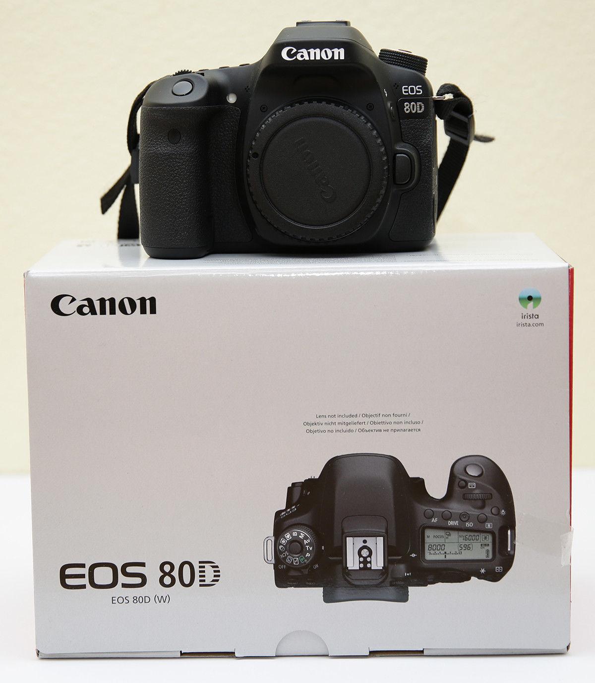Canon EOS 80D 24.2 MP SLR-Digitalkamera - Top-Zustand!!! Kaum benutzt