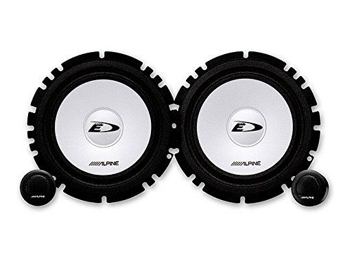 Alpine Auto Lautsprecher Kompo System 200 Watt Audi A1 ab 2010 Einbauort vorne : -- / hinten : Seitenwand Rücksitz