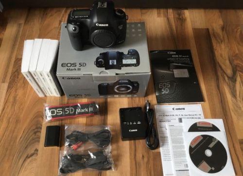 Canon EOS 5D Mark III 22.3 MP DSLR