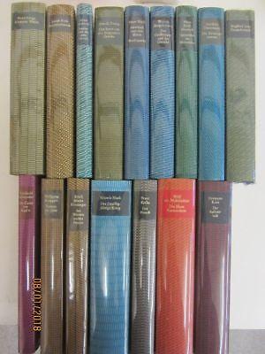 16 Bücher Romane internationale Klassiker Bibliothek des 20. Jahrhunderts