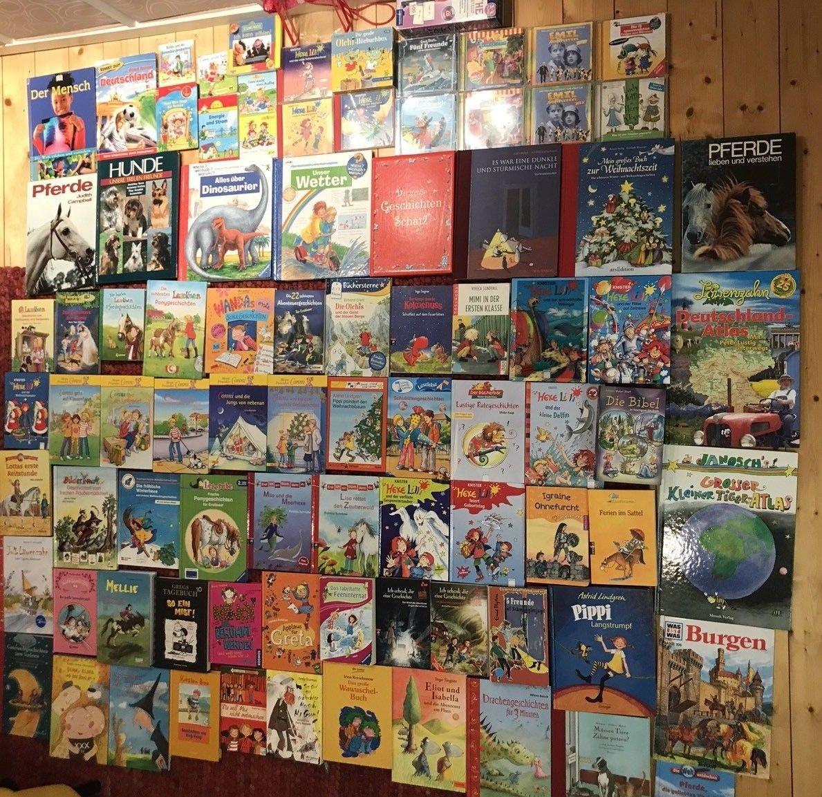 89 Jugendbücher Kinderbücher Konvolut Sammlung Conny Leserabe Löwenzahn Gregs