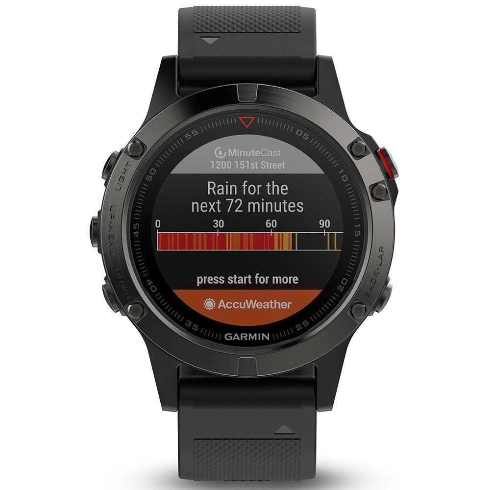 Garmin fenix 5 HR GPS-Multisport-Smartwatch HF-Messung am Handgelenk, ungenutzt