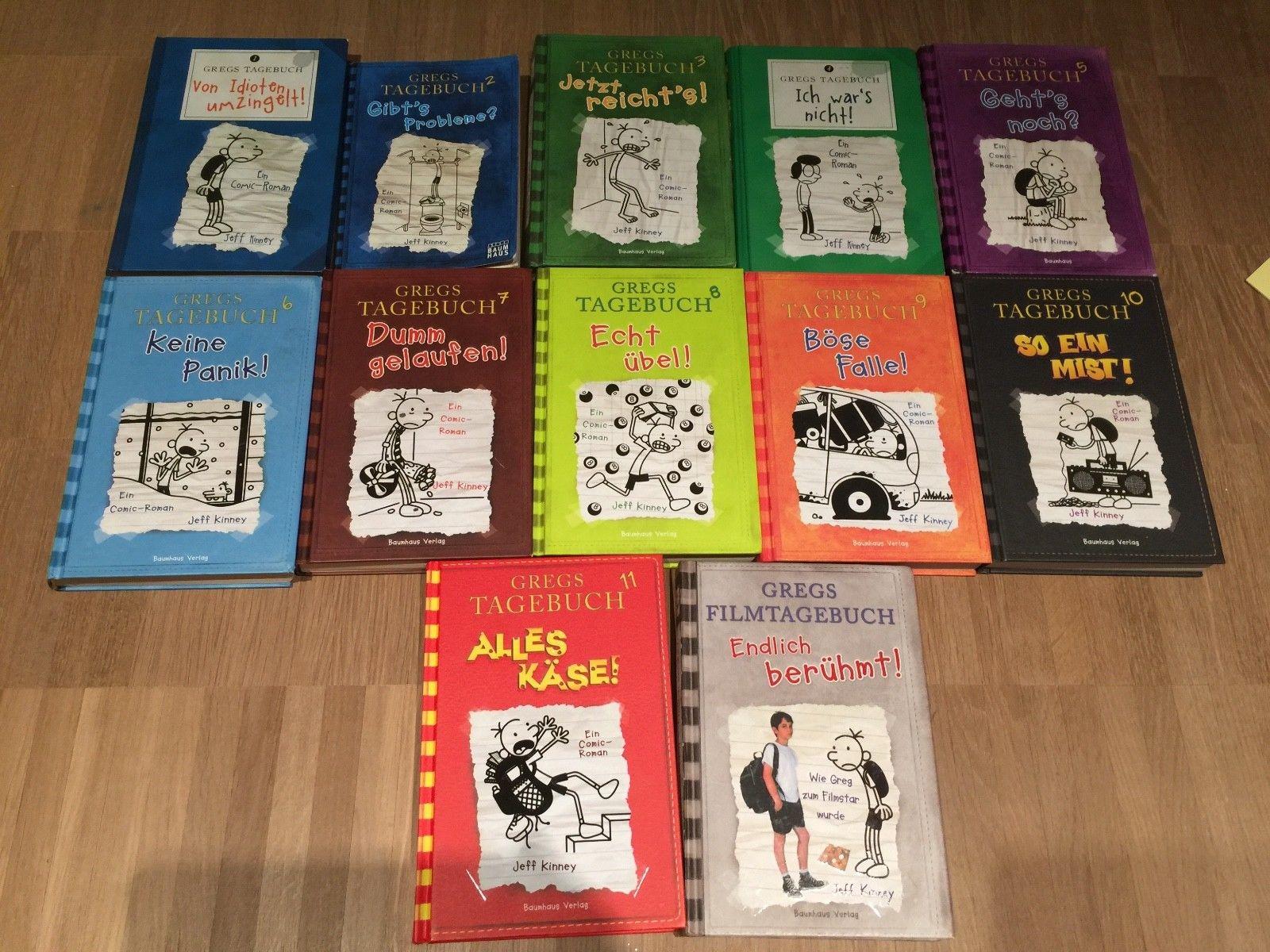 °°° Gregs Tagebuch 1-11 und Filmtagebuch ° Buchpaket ° Kinder ° Jugendliche °°°