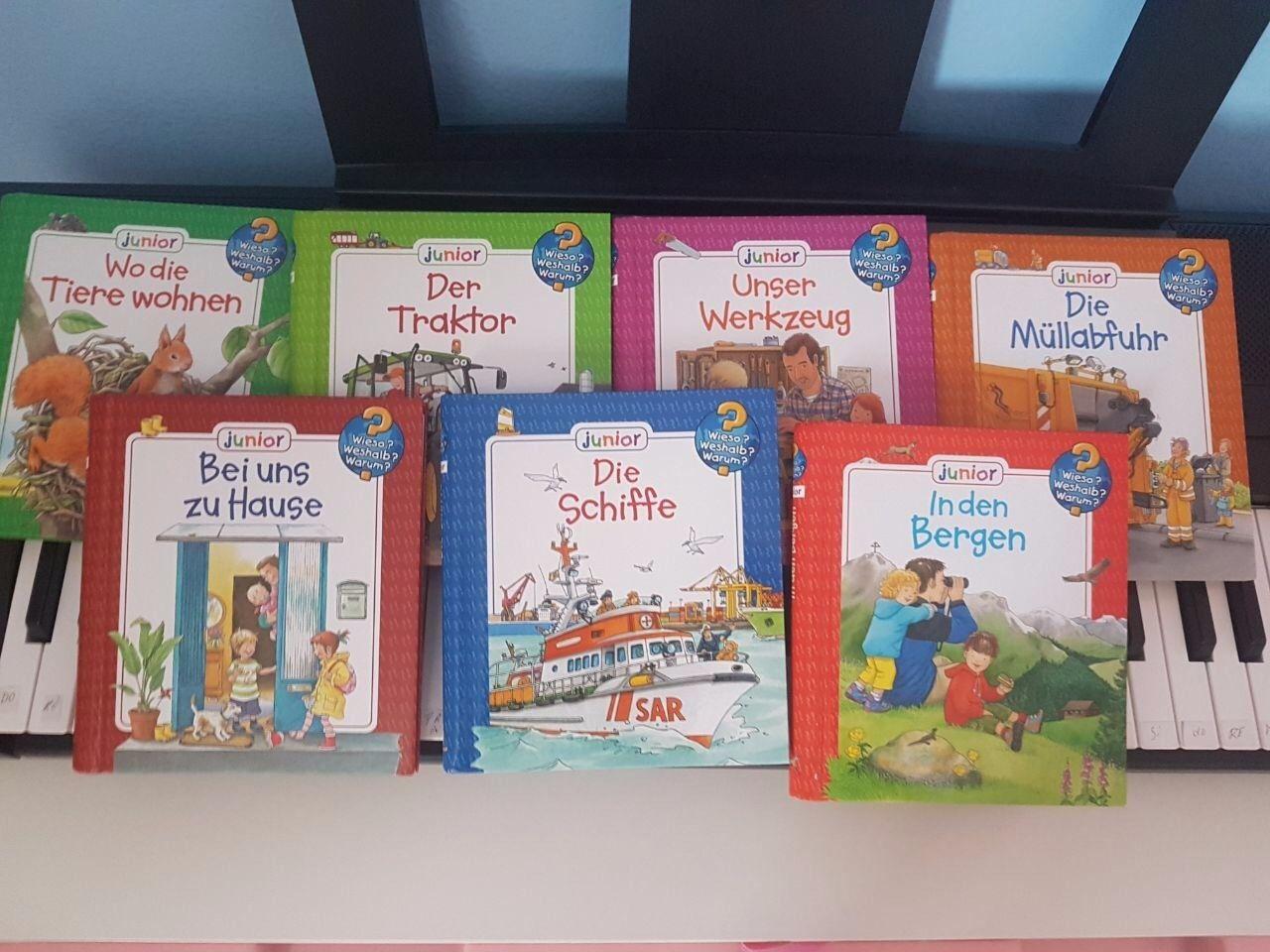 7 Kinderbücher Paket, Wieso? Weshalb? Warum?