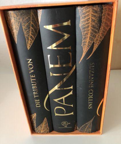 Die Tribute von Panem- Sammelbox mit 3 Bändern, Gebunden, Sehr Guter Zustand!