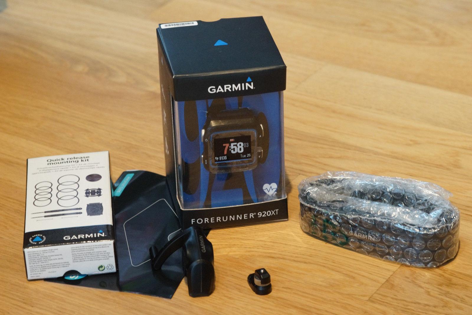 Garmin Forerunner 920xt Triathlon Brustgurt Halterung ANT+ Trittfrequenz Sensor