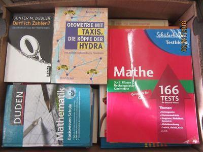 51 Bücher Mathematik Mathe Rechnen Schulbücher Fachbücher