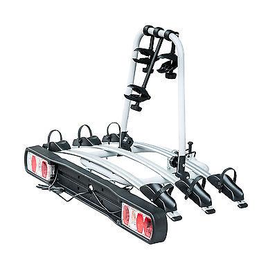 Homcom Fahrradträger für 3 Fahrräder Anhängerkupplungsträger Heckträger Auto
