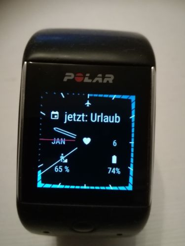 Polar M600 schwarz