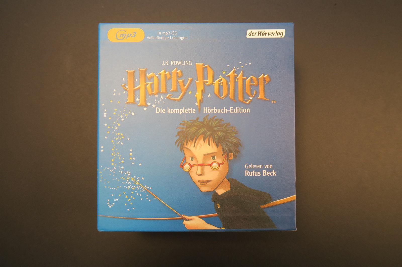Harry Potter - Die komplette Hörbuch-Edition - 14 MP3-CD - Kinder/Jugend