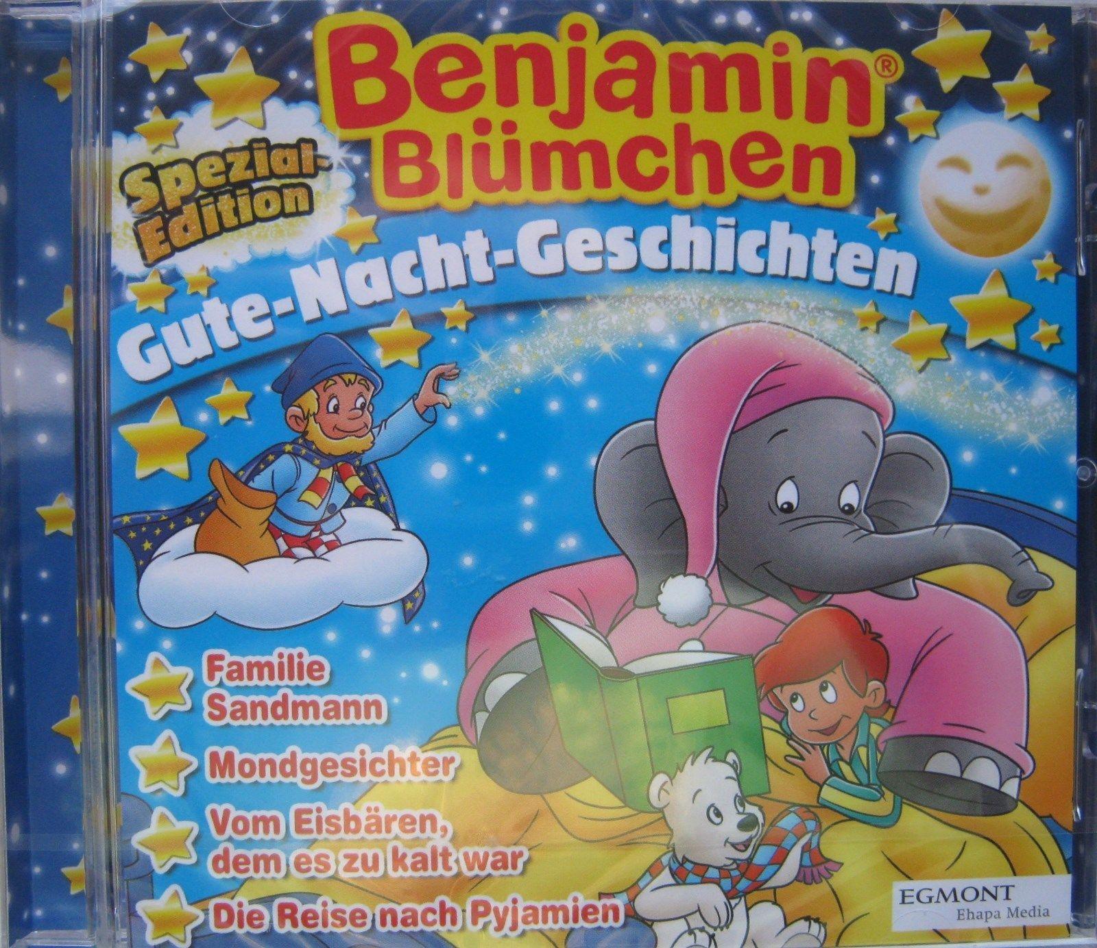 Benjamin Blümchen ~ 4x Gute Nacht Geschichten ~ CD Spezial Edition + Sonderheft