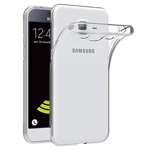 Samsung Galaxy J3 2016 Hülle Case, AICEK [Ultra-Clear] Galaxy J3 2016 Case Silikon Soft TPU Crystal Clear Premium Durchsichtig Handyhülle Schutzhülle Case Backcover Bumper Slimcase für Galaxy J3 2016