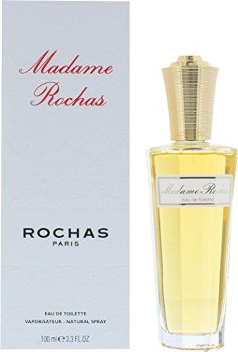 Rochas Madame Rochas 100ml Damen Eau de Toilette Spray Duft mit Geschenk Tüte