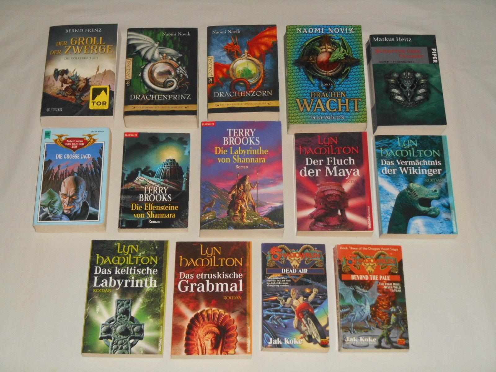Fantasy Mystery Bücher Paket, 14 TB