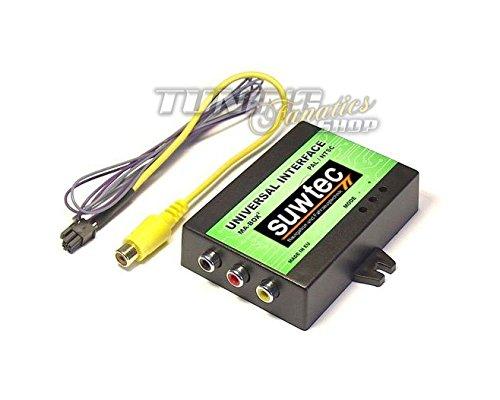 DVD Video Multimedia Adapter + Rückfahrkamera Interface + TV Free VW MFD 2 RNS2