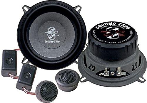 Ground Zero Titanium GZTC 130 TX Auto Lautsprecher Kompo-System 280 Watt für Volvo V40 alle Einbauort vorne :Türen / hinten :Türen