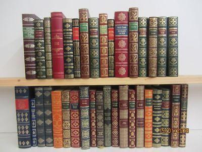 36 Bücher Romane internationale Klassiker im edlem Kunstledereinband